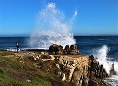 Tatiana1 (Michael T. Morales) Tags: waves pacificgrove ptpinos rockformation montereybay ocean mar sea