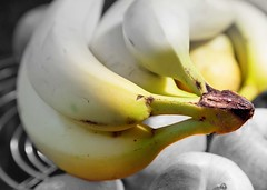 banana (norm.edwards) Tags: graduated banana yellow blackandwhite cool wow detail nice like taste black white