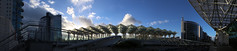 IMG_3014_stitch (AndyMc87) Tags: estao gare do oriente parque das naes santiago calatrava expo98 station lissabon lisboa lisbon canon eos 6d 2470 stitched sky clouds architecture bows roof light 180
