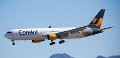 B767   D-ABUD   LAS   20161020 (Wally.H) Tags: boeing 767 boeing767 b767 dabud condor las klas lasvegas airport