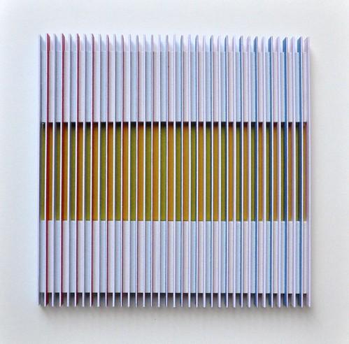 Herman Coppus papierrelief 30x30cm