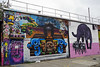Welling Court Mural Project - Astoria, Queens, NYC (SomePhotosTakenByMe) Tags: panther blackpanther tier animal usa urlaub vacation holiday nyc newyork newyorkcity america amerika queens astoria mural wandbild kunst art graffiti wellingcourt wellingcourtmuralproject muralproject outdoor wall mauer sprayitdontsayit weareone oneamador onel onelnyc zehpalito palito amador w3rc