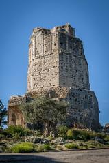 Nmes La tour Magne -0232 (philippemurtas) Tags: tour magne monument galloromain vestige nmes gard mont cavalie ciel couleur nikon tower galloroman sky color