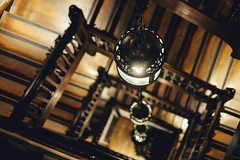 At Liberty (James_Beard) Tags: liberty libertys london fujixe2 fujixf35mm shop store staircase stairs bokeh depthoffield