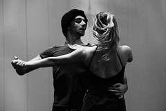 Pas de deux (Herebuse) Tags: danse mouvements ballet repetition entrainement nb bw contraste dance danseurs dancers
