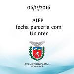Parceria ALEP/UNINTER 06/12/2016