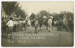 Salida de las Tropas Consts de Piedras Negras. Oct 1913. (SMU Central University Libraries) Tags: militia horses mexicanrevolution