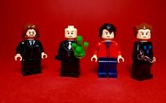 Lego DC Universe Minifigures #3 - Smallville season 1-5 (Sir Doctor) Tags: lego smallville lex luthor superman clark kent braniac custom dc