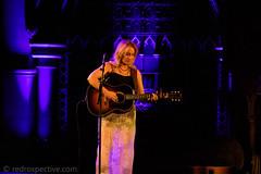 Amy Speace-6 (redrospective) Tags: 2016 20161121 amyspeace applewoodroad london november2016 unionchapel blond blonde blue concert electroacousticguitar gig instruments live musicians people spotlights woman