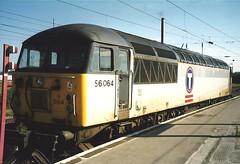 EWS Class 56 56064 - Warrington Bank Quay (dwb transport photos) Tags: ews grid locomotive 56064 transrail warringtonbankquay warrington
