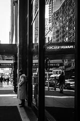 Boxes (sethwebster) Tags: ifttt 500px black white coat man meridian monochrome new york street theater winter