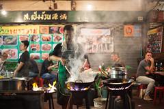 El cocinero (Sitoo) Tags: bangkok charoenkrung chinatown night nightphotography road streetlife streetphotography thailand portrait cook chef cocinero fire smoke humo fuego fogones three tres