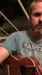 Something different. Bit of ukulele practice. (dannyboyx) Tags: learningthegame sing buddyholly ukulele