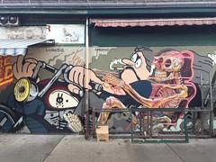 Vienna - street art in the Naschmarkt - piece by Nychos (David Pirmann) Tags: vienna austria streetart nychos