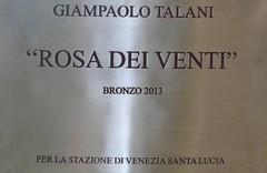 """20140430Venedig Kunst Skulptur """"Rosa Dei Venti""""1v7 (rerednaw_at) Tags: 20140430venedig kunst skulptur rosadeiventi"""