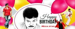 MEGA 60 - #Chiranjeevi, #Happybirthdaymegastar, #Megastar - cinemababu (cinemababu) Tags: chiranjeevi megastar happybirthdaymegastar