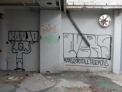 Graffiti (oerendhard1) Tags: urban streetart art graffiti rotterdam toilet vandalism ons fabriek pts putas asem konjo eopo