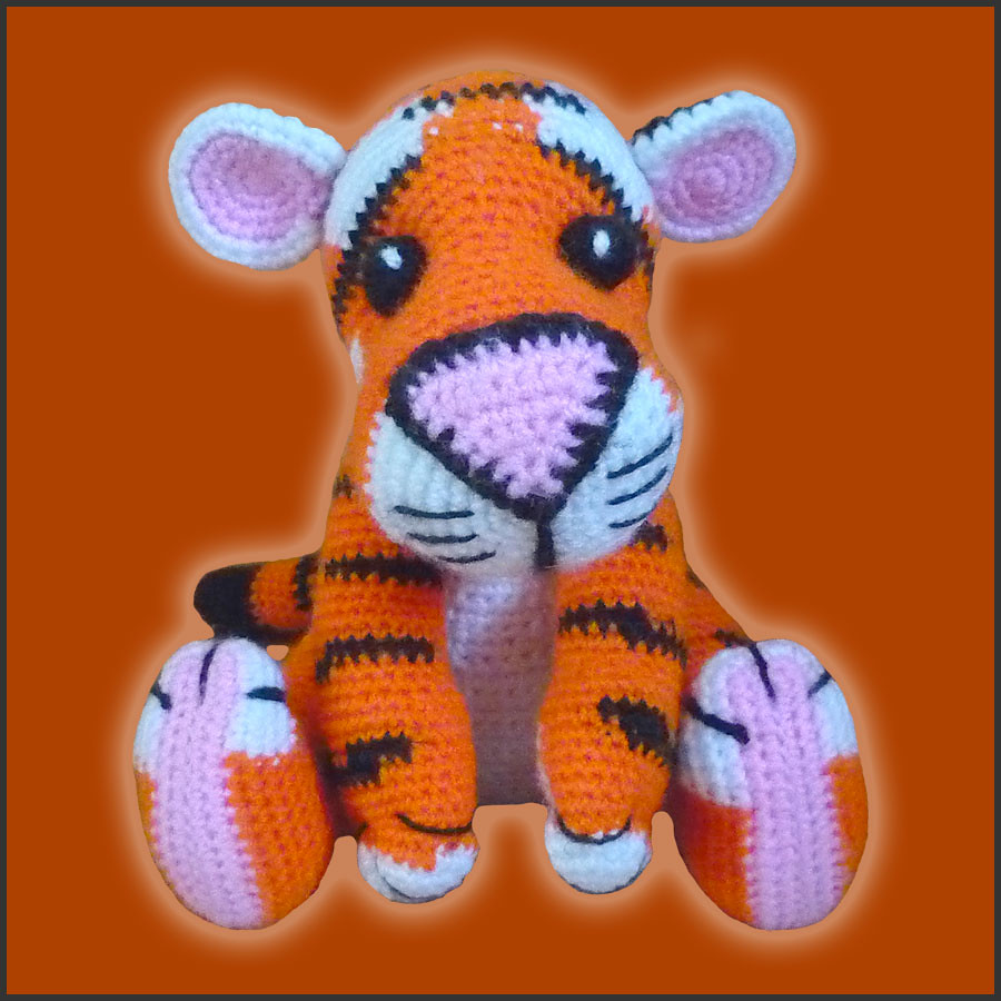 Amigurumi Patterns Tiger : The Worlds Best Photos of amigurumi and pdf - Flickr Hive ...