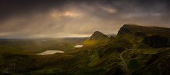 Trotternish (GenerationX) Tags: rain weather sunrise landscape evening scotland highlands rocks isleofskye unitedkingdom scottish neil gb cleat barr trotternish landslip oldmanofstorr staffin quiraing rona flodigarry thestorr theprison soundofraasay staffinbay biodabuidhe isleofraasay beinnedra canon6d caolrona lochcleat lochleumnaluirginn cuithraing creagalain trndairnis eileanfladday roundfold eileantigh kvirand