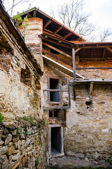 Ruins of the fortifications (Raoul Pop) Tags: tower castle architecture corner ruins medieval historic romania walkways fortifications cris ro transilvania doorways