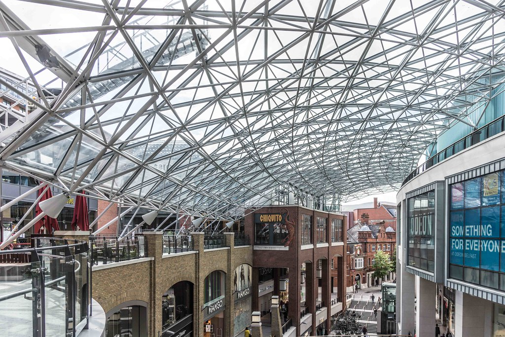 2015 VISIT TO VICTORIA SQUARE SHOPPING CENTRE [BELFAST] REF-108837