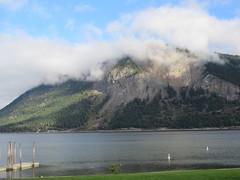Looking across the lake (jamica1) Tags: cloud lake canada mountains bc arm salmon columbia british shuswap