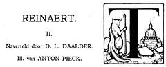 zonneschijn nov 1929 ill Anton Pieck  Reinaard  de vos   (1) (janwillemsen) Tags: antonpieck magazineillustrationzonneschijn1929
