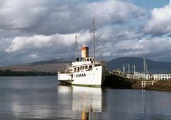 Maid of the Loch at Balloch, Loch Lomond. Oct'76. (David Christie 14) Tags: balloch lochlomond maidoftheloch