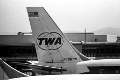 Trans World Airlines (TWA) Boeing 707-131B N796TW (pointnshoot) Tags: twa boeing707 transworldairlines kodakplusxpanfilm n796tw