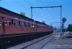 7606J-35 (Geelong & South Western Rail Heritage Society) Tags: australia melbourne victoria aus portmelbourne tait dogbox