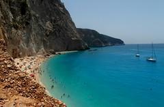 Porto Katsiki Beach (ForceMajeureMontenegro) Tags: greece griechenland lefkada portokatsiki  grka