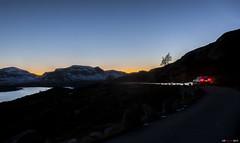 Night Drive II (bent inge) Tags: norway october nightshot citron roads telemark nightdrive haukeli 2015 citronc5 vinje haukelifjell norwegianroads norwegianmountains longwindingroads bentingeask