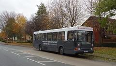 Trent Barton 125, Trowell, Nottingham (Lady Wulfrun) Tags: trent barton 125 volvo b10b ncme paladin trowell nottingham november 2016 l125lra trentbuses learner driver tuition bus vehicle