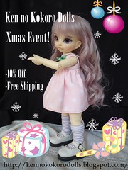 Xmas event! (kao_chanita) Tags: christmas doll sale 10 stock free off bjd resin shipping limited cosita artistdoll xmasevent amparita kennokokoro amparita02 knkdoll knkdolls