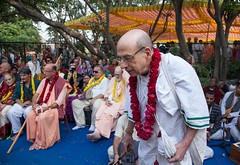 IMG_5493 (iskconmonk) Tags: festival prabhupada swami kartik prabhu brahmananda vrindavan iskcon swamiji sanyasi goshala iskconvrindavan