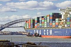 r_151123244_skelsisl_a (Mitch Waxman) Tags: newyorkcity newyork ship cargo tugboat statenisland moran newyorkharbor bayonnebridge killvankull johnskelson