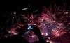 Freeze the moment (Joy Robert) Tags: red indonesia hotel nikon fireworks jakarta hi 1855mm tugu menara manfrotto selamat bca lowepro 160 2016 adventura befree datang kempinski bundaran d3300 viewnx2