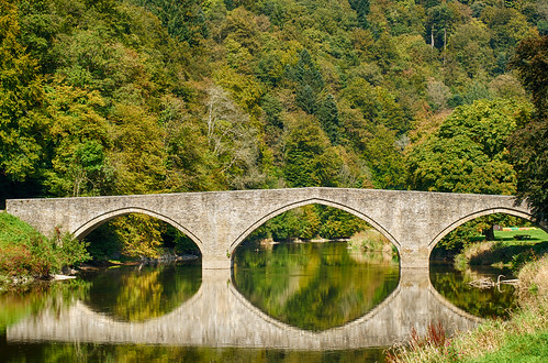 Bridge Over La Semois, Bouillon