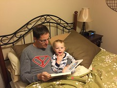 "Paul Reads with Daddy • <a style=""font-size:0.8em;"" href=""http://www.flickr.com/photos/109120354@N07/23581306570/"" target=""_blank"">View on Flickr</a>"