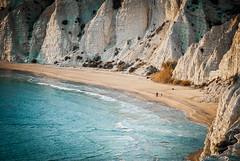 the beach (alessio_laplaca) Tags: blue sunset sea beach colors beautiful yellow grey coast nikon scenery shot desert d200 200mm realmonte