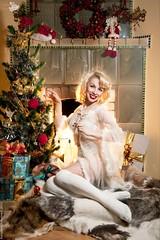 Happy New Year 2016 (menelwena) Tags: sexy glamour women femme noel sensual pinup happynewyear sensuelle bonneanne merrychrismas