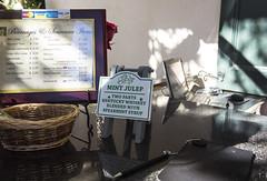 Mint julep recipe (Dawlad Ast) Tags: new november america oak alley orleans drink united mint noviembre plantation lousiana states nueva venta bebida plantacion estados julep menta unidos 2015 luisiana julepe