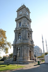 Clock Tower Dolmabahe Palace (Ray Cunningham) Tags: dolmabahe palace istanbul turkey ottoman sultan osmanl imparatorluu empire turkish islam