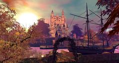 Edgewood Castle - Winterfell Reverie (Wildstar Beaumont) Tags: 2016 reverie secondlife sl winterfell