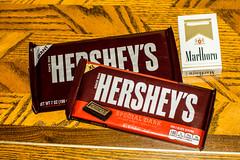 Hershey's (tomhannahs) Tags: asahisupertakumar50mmf14 hersheys sonya6000 chocolate