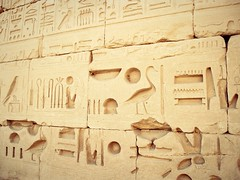 Ancient Egypt. Hieroglyphics. (kerstinlange1) Tags: egypt hieroglyphics script ancientegypt tempelinscript tempel travel vacations