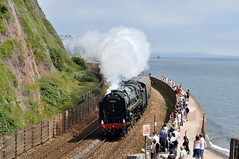 20120722    70000 Britannia (paulbrankin775) Tags: 71000 britannia torbayexpress torbay express teignmouth devon br standard steam railway smoke