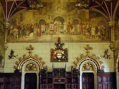 Cardiff, Cardiff (Oxfordshire Churches) Tags: cardiff cardiffcastle castellcaerdydd castles wales cymru panasonic lumixgh3 uk unitedkingdom johnward doorways murals palaces statelyhomes