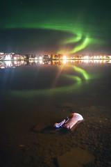 Polarflammen (Yverboren) Tags: boden norrbotten sverige sweden auroraborealis northernlights norrsken nordlys polarlicht longexposure night nox lights
