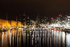 Albert Dock (mlomax1) Tags: canon eos600d merseyside liverpool albertdock water docks docklands reflection buildings lights lightpainting night dark shot nightshoot